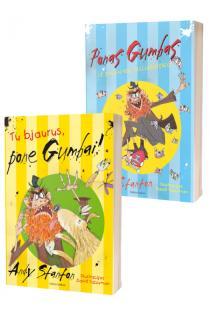KOMPLEKTAS. Ponas GUMBAS: Tu bjaurus, pone Gumbai! + Ponas Gumbas ir Sausainių Milijardierius | Andy Stanton
