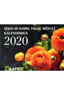 Sėjos ir darbų pagal Mėnulį kalendorius 2020 |