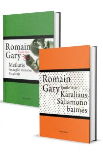 KOMPLEKTAS. Romain GARY: Meilutis: smauglio vienatvė Paryžiuje + Karaliaus Saliamono baimės | Romain Gary