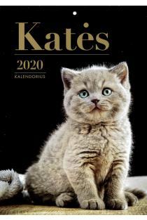 2020 metų kalendorius (Katės O-press) |