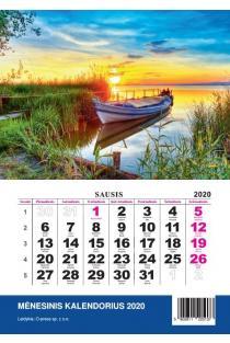2020 metų kalendorius (Lira A7) |