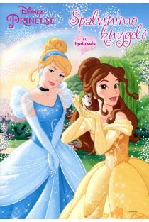 Princesė. Spalvinimo knygelė su lipdukais |
