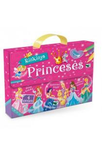 Princesės. Lagaminėlis su rankenėle (rinkinyje 4 knygos) |