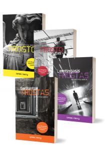 KOMPLEKTAS. Detektyvas FROSTAS: Frosto vidurnaktis + Frosto rytas + Seržantas Frostas + Lemtingasis Frostas | James Henry
