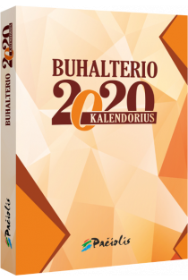 Buhalterio kalendorius 2020 |