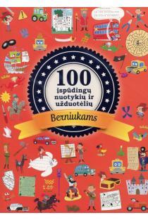 100 įspūdingų nuotykių ir užduotėlių berniukams | Mathilde Paris