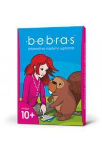 Žaidimo kortelės BEBRAS 10+ informatinio mąstymo ugdymui |
