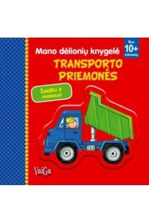 Mano dėlionių knygelė. Transporto priemonės |