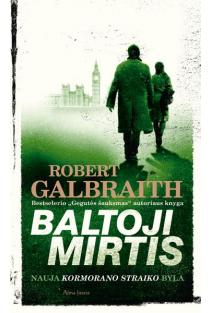 Baltoji mirtis   Robert Galbraith