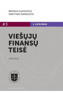 Viešųjų finansų teisė   Bronius Sudavičius, Martynas Endrijaitis