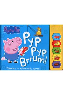 Peppa Pig. Pyp Pyp Brrum! Džordžas ir automobilių garsai |