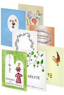 KOMPLEKTAS. Birutės Tiknevičiūtės knygelių vaikams komplektas | Birutė Tiknevičiūtė