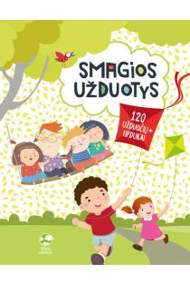 Smagios užduotys vaikams (120 užduočių + lipdukai) | Roma Blėkienė
