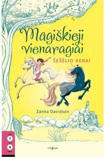 Magiškieji vienaragiai, 6 knyga. Šešėlio kerai | Zanna Davidson