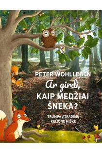 Ar girdi, kaip medžiai šneka? | Peter Wohlleben