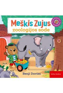Meškis Zujus zoologijos sode | Benji Davies