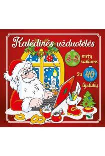 Kalėdinės užduotėlės 3-5 metų vaikams su 40 lipdukų |