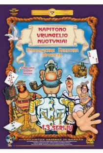 Kapitono Vrungelio nuotykiai (DVD) | Animacija, vaikams, šeimai