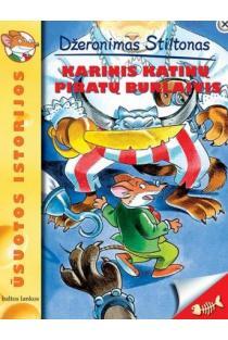 Ūsuotos istorijos. Karinis katinų piratų burlaivis | Džeronimas Stiltonas