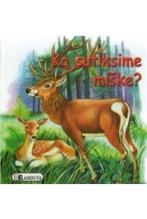 Ką sutiksime miške (kartoninė knygelė) |