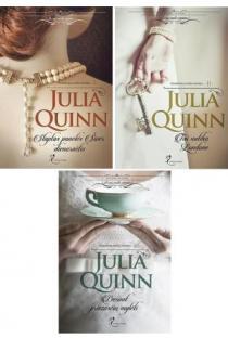 "KOMPLEKTAS. Trilogija ""Aristokratų meilės istorijos"" | Julia Quinn"
