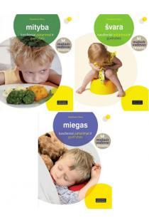 KOMPLEKTAS. Mažasis vadovas tėvams: Mityba + Švara + Miegas: kasdieniai patarimai ir gudrybės | Madeleine Deny
