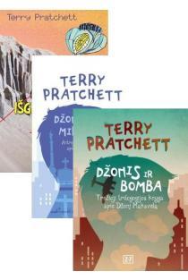 KOMPLEKTAS. Sero Terry Pratchett trilogija apie neįtikėtinus Džono Maxwello nuotykius, 3 knygos | Terry Pratchett