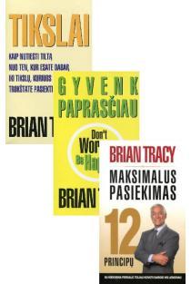 KOMPLEKTAS. Brian Tracy sėkmės formulė: Tikslai + Gyvenk paprasčiau + Maksimalus pasiekimas | Brian Tracy