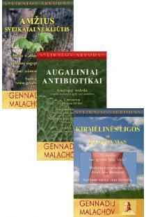 KOMPLEKTAS. Sveikata pagal Genadijų Malachovą: Amžius sveikatai ne kliūtis + Augaliniai antibiotikai + Kirmėlinės ligos ir jų gydymas | Genadij Malachov