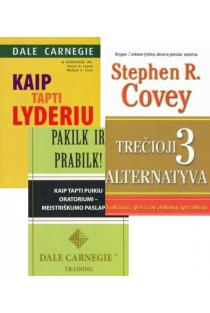 KOMPLEKTAS. Lyderystė pagal Dale Carnegie: Kaip tapti lyderiu + Pakilk ir prabilk + DOVANA Trečioji alternatyva | Dale Carnegie