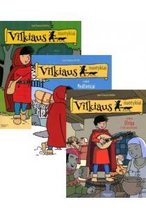 KOMPLEKTAS. Vilkiaus nuotykiai: Susitikimas, I knyga + Medžiotojai, II knyga + Užeiga, III knyga | Jean-Francois Kieffer