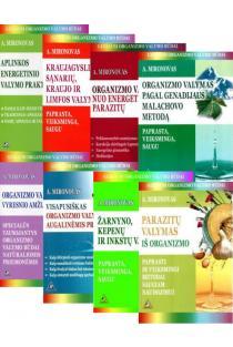 KOMPLEKTAS. Organizmo ir aplinkos valymas pagal gydovą Andrejų Mironovą (8 knygos) | Andrejus Mironovas