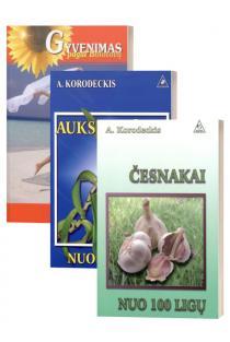 KOMPLEKTAS. Peterburgo fitoenergetikas, žolininkas Aleksandras Korodeckis: Artritas ir artrozė + Auksinis ūsas nuo 100 ligų + Česnakai nuo 100 ligų | Aleksandras Korodeckis