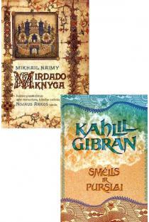 Artimųjų Rytų filosofų ir poetų išmintis: Mirdado knyga + Smėlis ir purslai | Kahlil Gibran, Mikhail Naimy