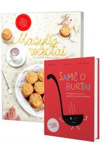 KOMPLEKTAS. Geros mamos knygos apie vaikų mitybą: Mažylio receptai + Samčio burtai | Jurgita Surplienė