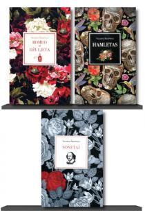 KOMPLEKTAS. Populiarusis ŠEKSPYRAS: Romeo ir Džiuljeta + Hamletas + 154 sonetai | Viljamas Šekspyras (William Shakespeare)