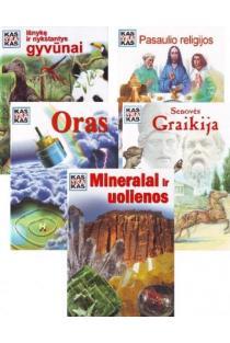 KOMPLEKTAS. Kas yra kas? Pasaulio religijos + Oras + Senovės Graikija + Mineralai ir uolienos + Išnykę ir nykstantys gyvūnai |