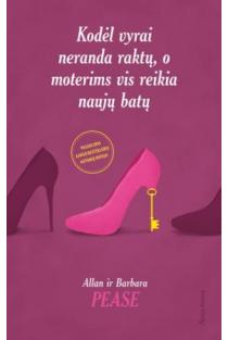 Kodėl vyrai neranda raktų, o moterims vis reikia naujų batų | Allan Pease, Barbara Pease
