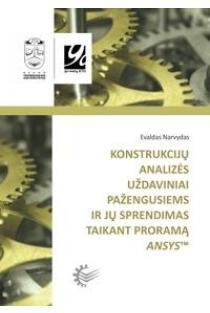 Konstrukcijų analizės uždaviniai pažengusiems ir jų sprendimas taikant programą ANSYS | Evaldas Narvydas
