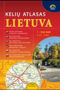 Lietuva. Kelių atlasas 1:300000 |