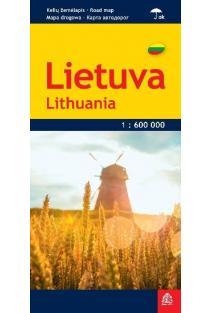 Lietuva. Kelių žemėlapis |