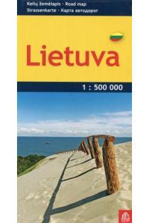 Lietuva. Kelių žemėlapis 1:500000  