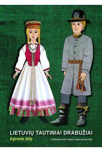 Lietuvių tautiniai drabužiai. Aprenk lėlę  