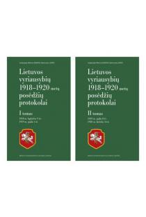 Lietuvos vyriausybių 1918-1920 metų posėdžių protokolai, 1 ir 2 tomai |