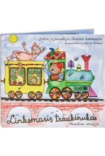 Linksmasis traukinukas (CD) | Sonata Latvėnaitė-Kričenienė, Petras Kričena