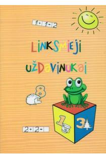 Linksmieji uždavinukai. Pratybų sąsiuvinis 6-7 metų vaikams | Oksana Vasiliauskienė