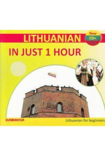 Lithuanian in just 1 hour (CD + brošiūra) |