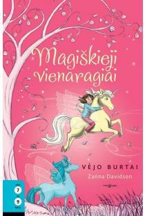 Magiškieji vienaragiai, 3 knyga. Vėjo burtai | Zanna Davidson