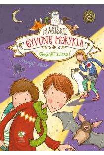 Magiškų gyvūnų mokykla 3. Gesinkit šviesą! | Margit Auer