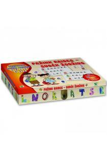 Magnetinis raidžių rinkinys. Pažink raides – sudėk žodžius |